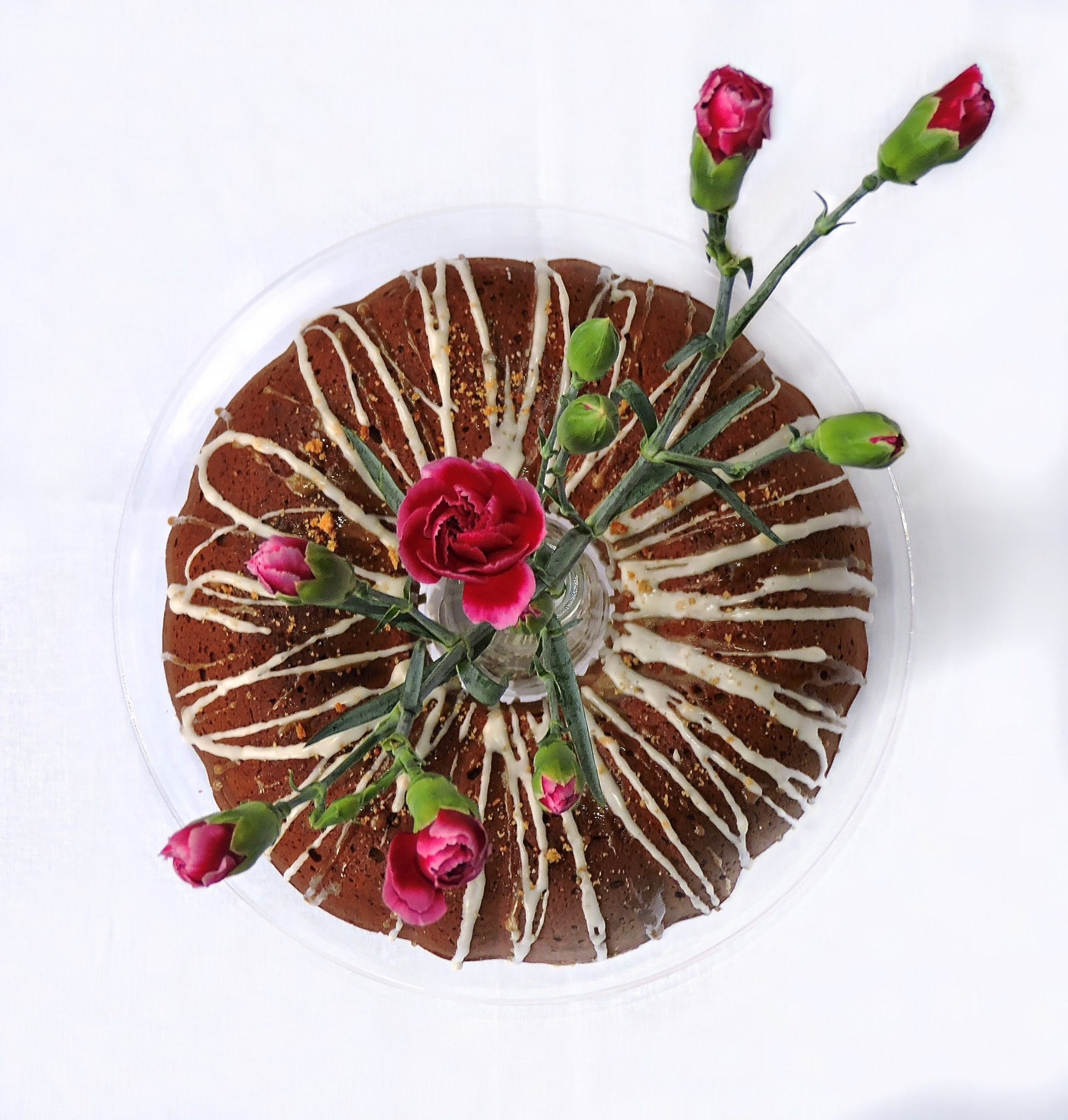 Coffee Bundt Cake With In The Middle