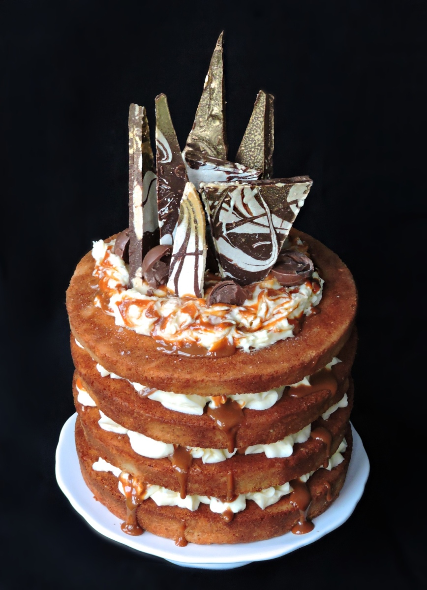 Decorate Caramel Cake