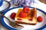 White Chocolate & Raspberry Cheesecake Bars